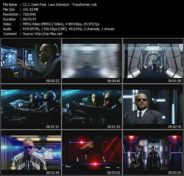 J. Dash Feat. Lara Johnston - Transformer