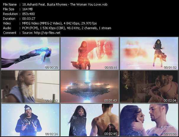 Ashanti Feat. Busta Rhymes - The Woman You Love