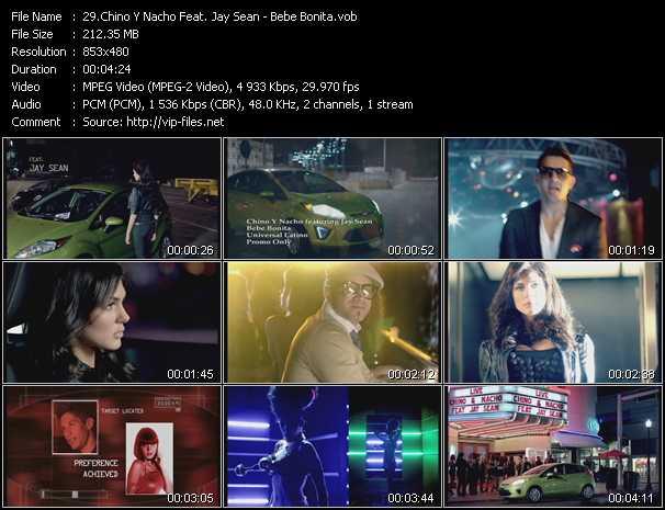 Chino And Nacho Feat. Jay Sean - Bebe Bonita
