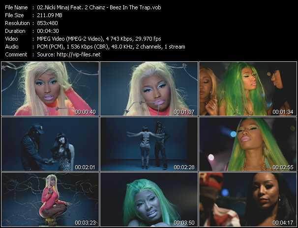 Nicki Minaj Feat. 2 Chainz - Beez In The Trap
