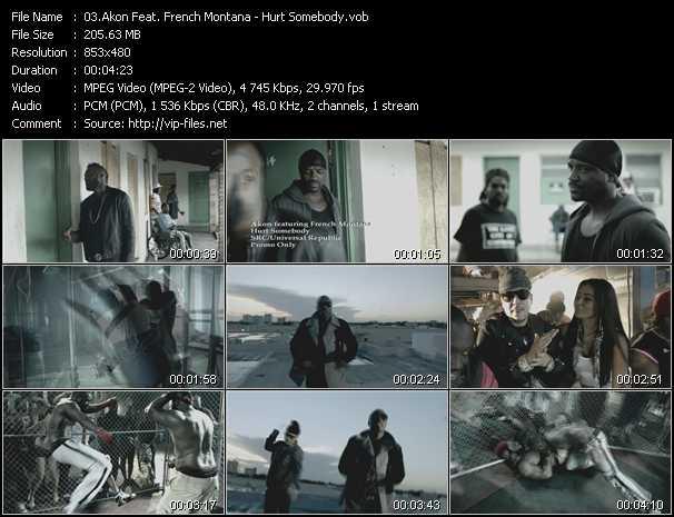Akon Feat. French Montana - Hurt Somebody