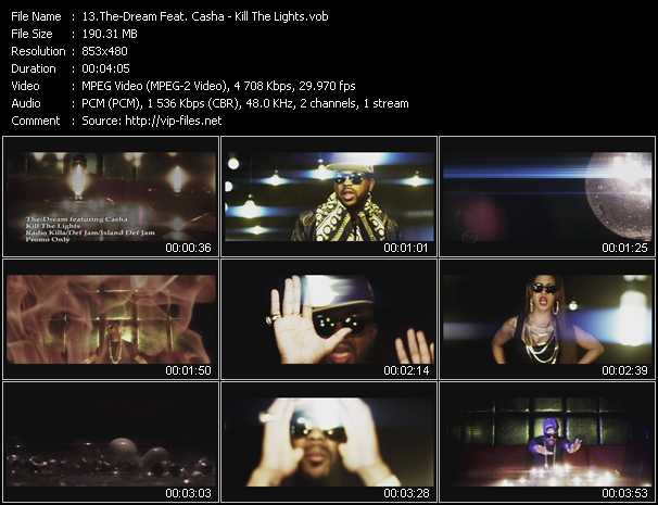 The-Dream Feat. Casha - Kill The Lights