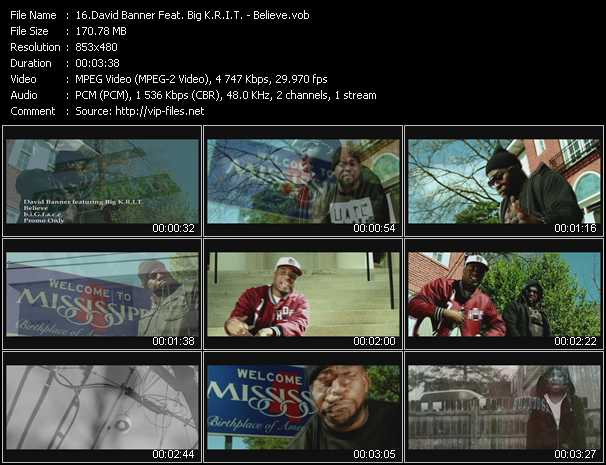 David Banner Feat. Big K.R.I.T. - Believe