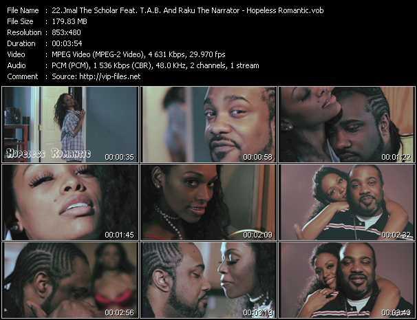 Jmal The Scholar Feat. T.A.B. And Raku The Narrator - Hopeless Romantic