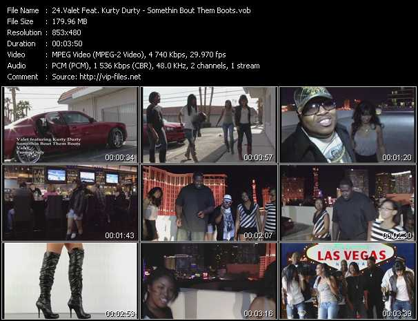Valet Feat. Kurty Durty - Somethin Bout Them Boots