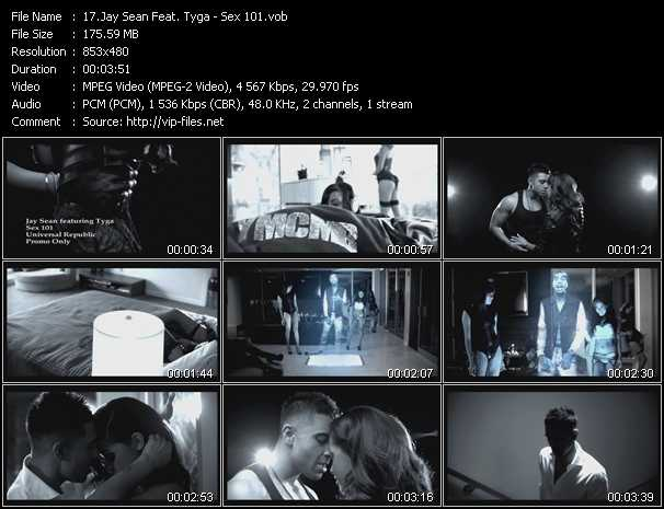 Jay Sean Feat. Tyga - Sex 101