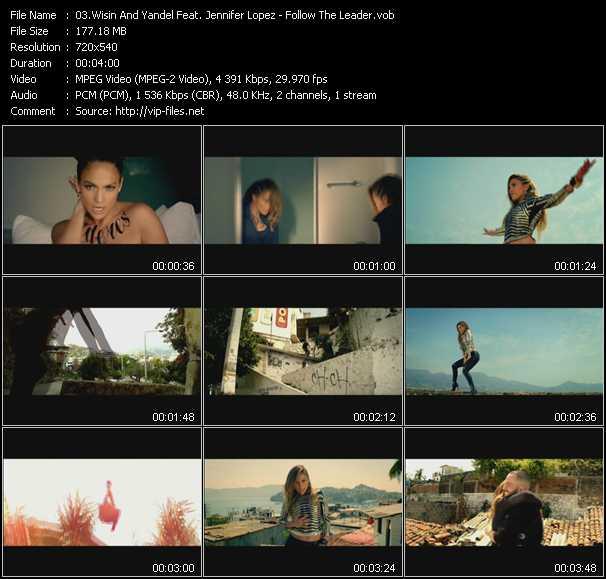 Wisin And Yandel Feat. Jennifer Lopez - Follow The Leader