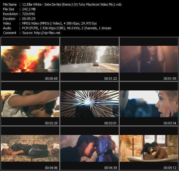 Ellie White - Sete De Noi (Remix) (Vj Tony MacAroni Video Mix)