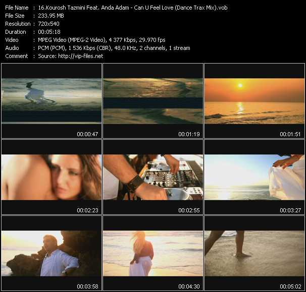Kourosh Tazmini Feat. Anda Adam - Can U Feel Love (Dance Trax Mix)