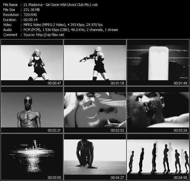 Madonna - Girl Gone Wild (Avicii Club Mix) (Vj Tony MacAroni Video Mix)