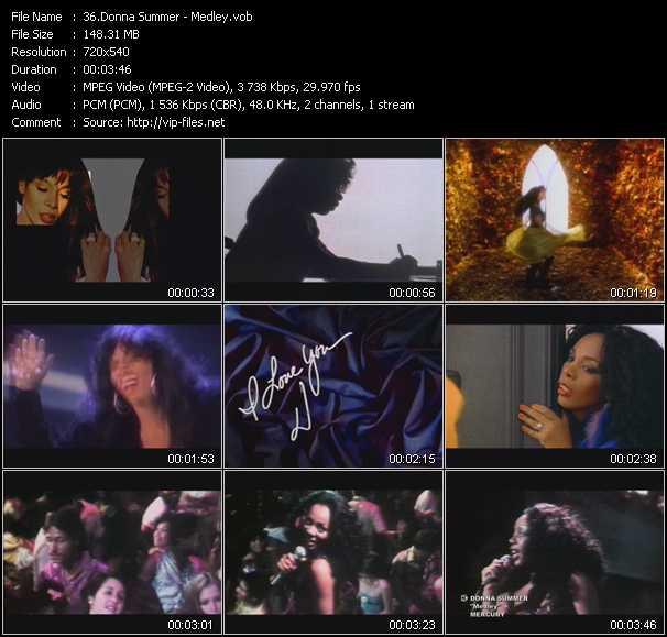 Donna Summer - Medley