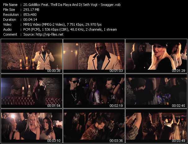 Goldillox Feat. Thrill Da Playa And Dj Seth Vogt - Swagger