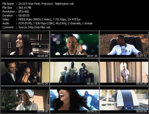 Dj R-Wan Feat. Francisco - Nightmares