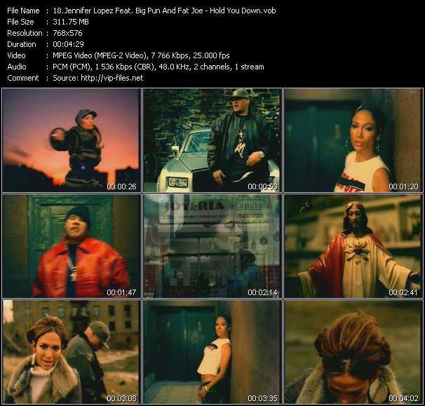 Jennifer Lopez Feat. Big Pun (Big Punisher) And Fat Joe - Hold You Down