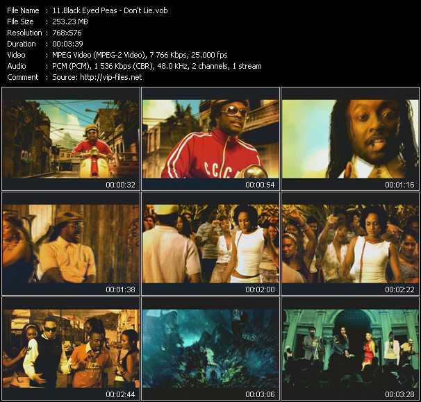 Black Eyed Peas - Don't Lie
