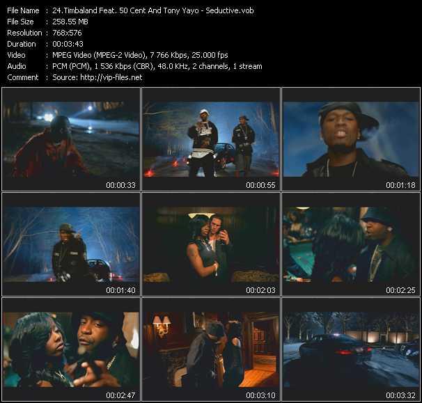 Timbaland Feat. 50 Cent And Tony Yayo - Seductive