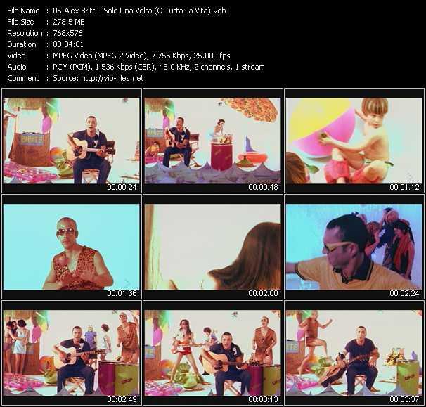 Alex Britti - Solo Una Volta (O Tutta La Vita)