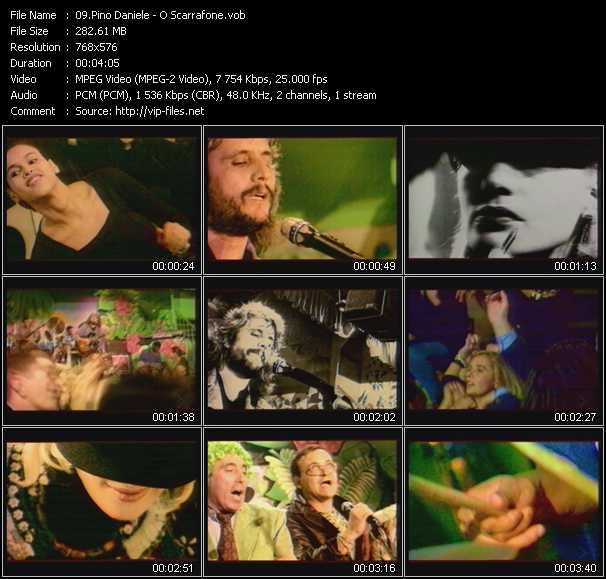 Pino Daniele - O Scarrafone