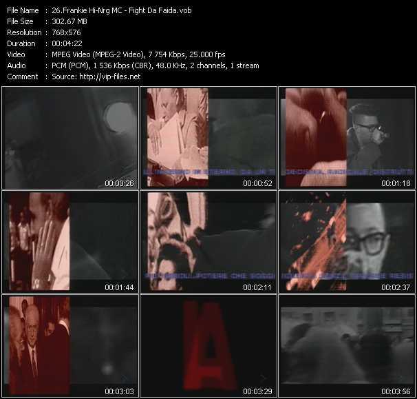 Frankie Hi-Nrg MC - Fight Da Faida