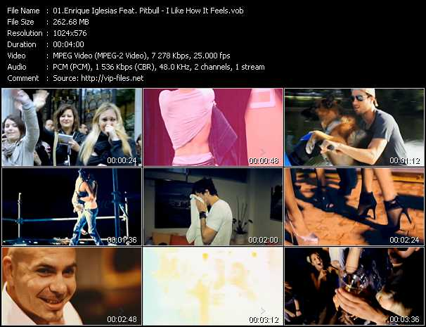 Enrique Iglesias Feat. Pitbull - I Like How It Feels