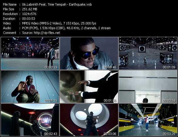 Labrinth Feat. Tinie Tempah - Earthquake