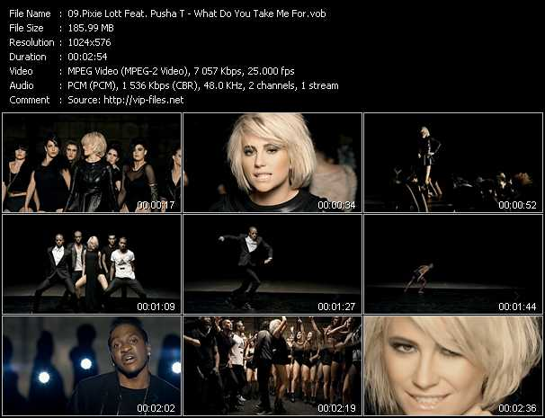 Pixie Lott Feat. Pusha T - What Do You Take Me For?