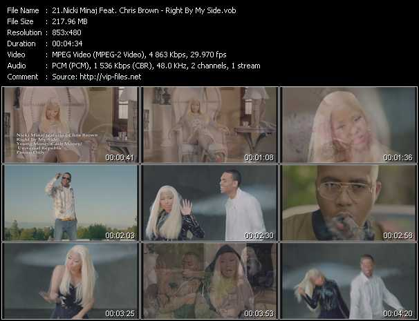 Nicki Minaj Feat. Chris Brown - Right By My Side