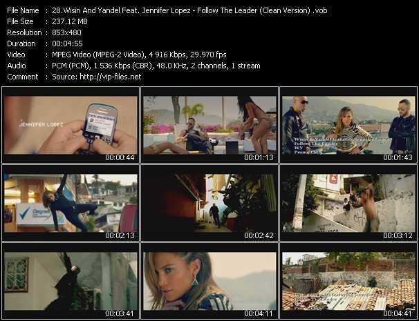 Wisin And Yandel Feat. Jennifer Lopez - Follow The Leader (Clean Version)