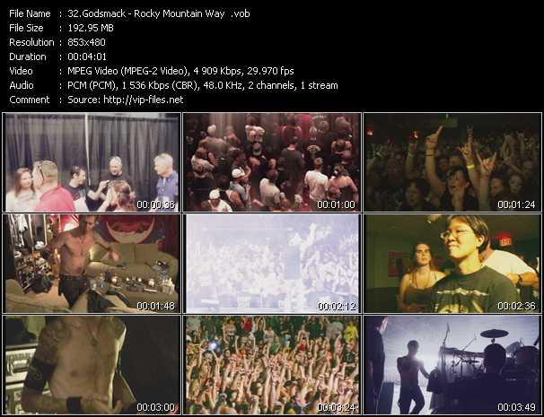 Godsmack - Rocky Mountain Way