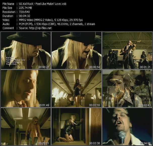 Kid Rock - Feel Like Makin' Love