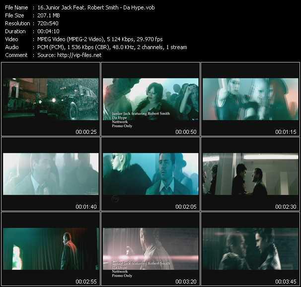 Junior Jack Feat. Robert Smith - Da Hype