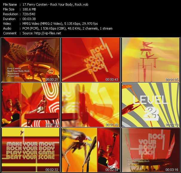 Ferry Corsten - Rock Your Body, Rock