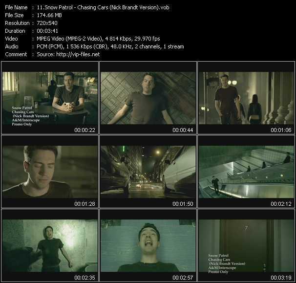 Snow Patrol - Chasing Cars (Nick Brandt Version)
