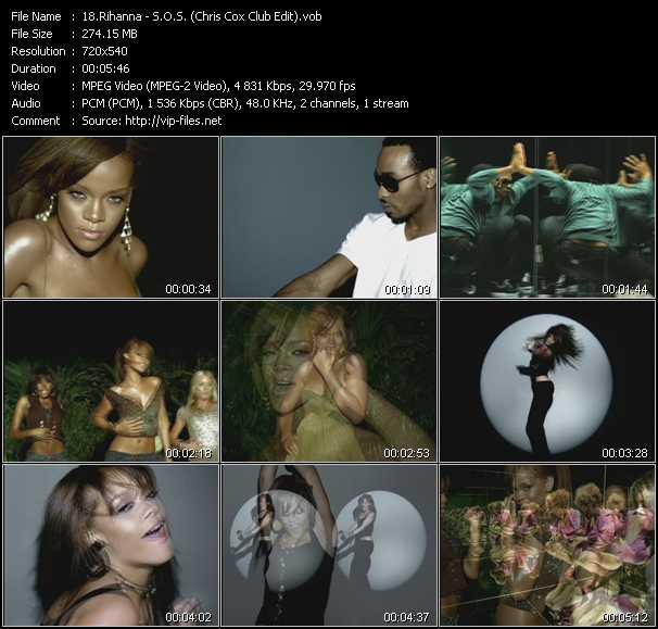 Rihanna - S.O.S. (Chris Cox Club Edit)