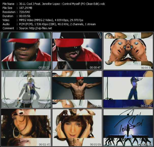 LL Cool J Feat. Jennifer Lopez - Control Myself (PO Clean Edit)