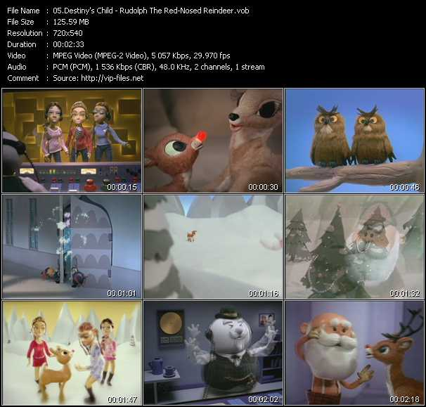 Destiny's Child - Rudolph The Red-Nosed Reindeer