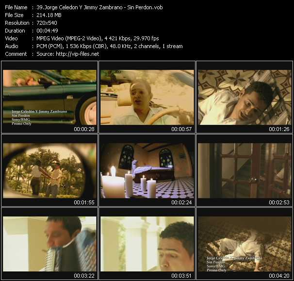 Jorge Celedon And Jimmy Zambrano - Sin Perdon