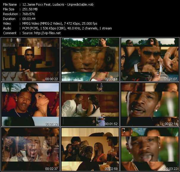 Jamie Foxx Feat. Ludacris - Unpredictable