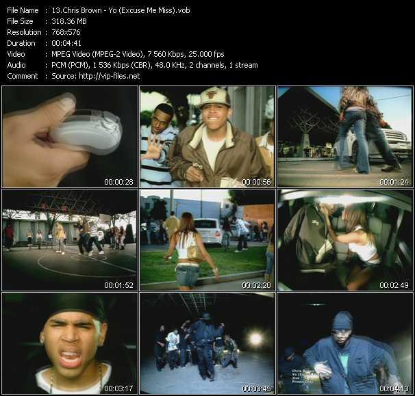 Chris Brown - Yo (Excuse Me Miss)