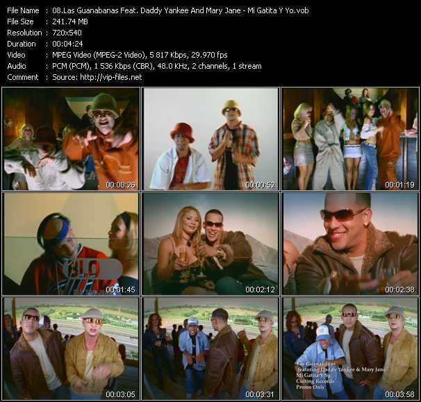 Las Guanabanas Feat. Daddy Yankee And Mary Jane - Mi Gatita Y Yo