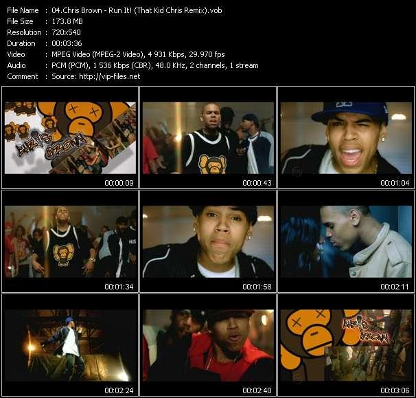 Chris Brown - Run It! (That Kid Chris Remix)