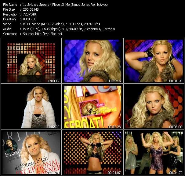 Britney Spears - Piece Of Me (Bimbo Jones Remix)