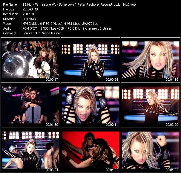 Murk Vs. Kristine W - Some Lovin' (Peter Rauhofer Reconstruction Mix)