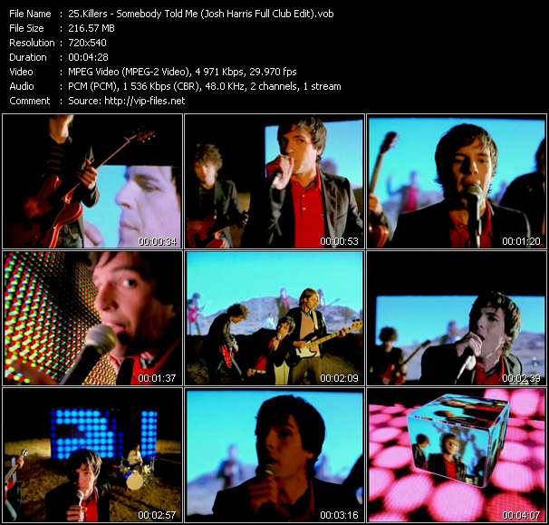 Killers - Somebody Told Me (Josh Harris Full Club Edit)