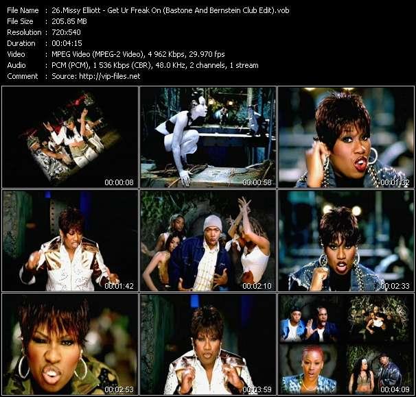 Missy Elliott - Get Ur Freak On (Bastone And Bernstein Club Edit)