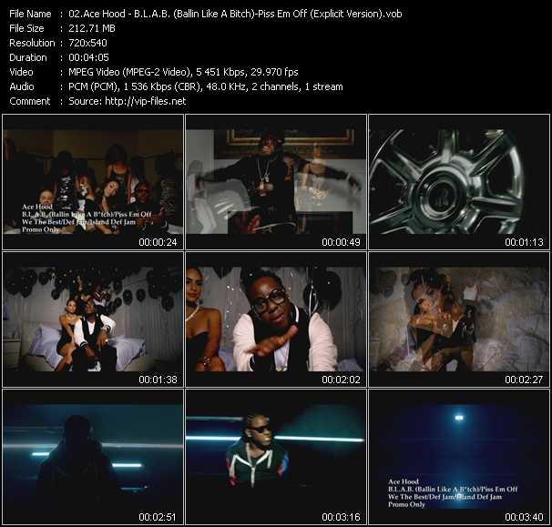 Ace Hood - B.L.A.B. (Ballin Like A Bitch) - Piss Em Off (Explicit Version)