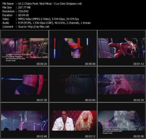 2 Chainz Feat. Nicki Minaj - I Luv Dem Strippers