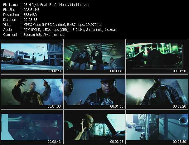 H Ryda Feat. E-40 - Money Machine