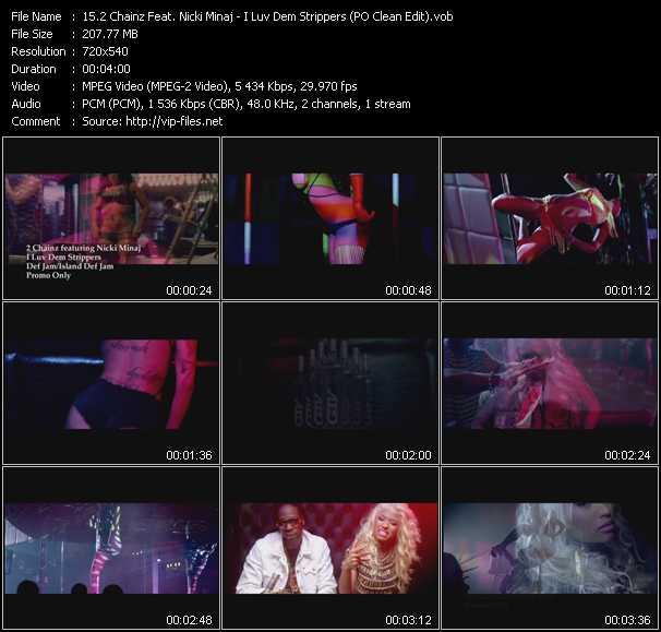 2 Chainz Feat. Nicki Minaj - I Luv Dem Strippers (PO Clean Edit)
