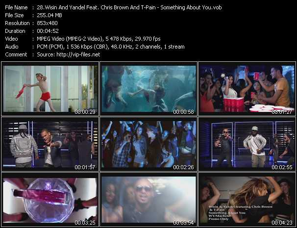 Wisin And Yandel Feat. Chris Brown And T-Pain - Something About You